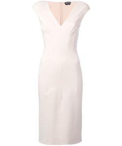 Tom Ford   Padded Shoulder Dress Size 40