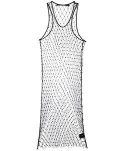 Filles A Papa | Beaded Mesh Dress Polyester/Sheep