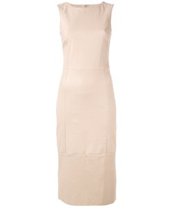 Drome | Fitted Leather Dress Size