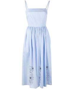 Eggs   Print Mid-Length Dress