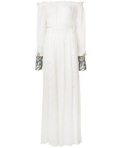 Loyd/Ford | Gathered Sheer Maxi Dress
