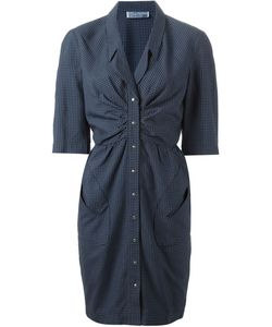 Thierry Mugler Vintage | Checked Dress