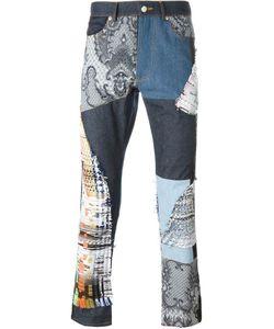 James Long | Patchwork Slim Jeans