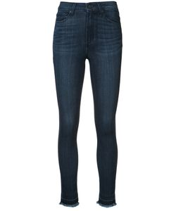 Paige | Hoxton Frayed Ankle Jeans Size 28