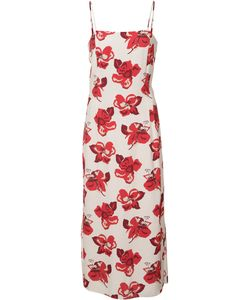Adam Lippes | Print Fitted Dress Size 8