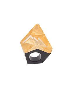 Monies | Facet Spike Ring Large