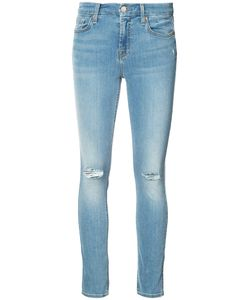 7 For All Mankind | Distressed Skinny Jeans