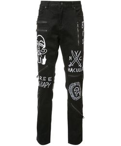 Haculla | Embroidered Slim-Fit Jeans 34
