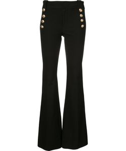 Derek Lam 10 Crosby | Flared High-Waisted Trousers Size 4