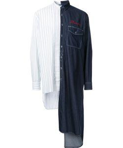Mihara Yasuhiro | Miharayasuhiro Combined Denim Dress Shirt 48 Cotton