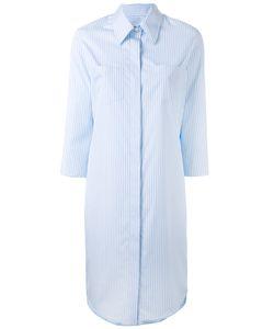 Alberto Biani   Striped Shirt Dress Size 40