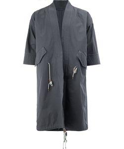Wooster + Lardini | Cropped Sleeves Coat