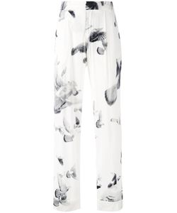 A.F.Vandevorst   Printed Wide Leg Trousers