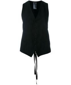 Ann Demeulemeester   Single-Breasted Waistcoat Size 40