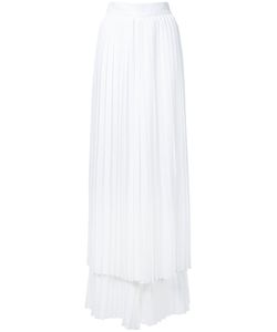 Sara Battaglia | Pleated Layered Trousers
