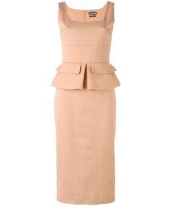 Tom Ford   Sleeveless Peplum Dress Size 42