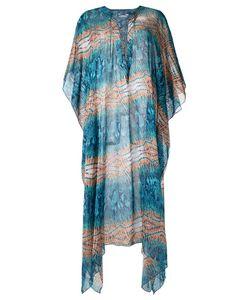 Brigitte   Printed Beach Dress Size Medium