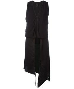 Thom Krom | Asymmetric Layered Waistcoat Size Large
