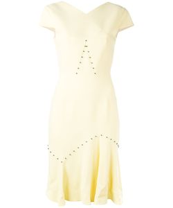 Roland Mouret | Pleated Hem Dress Size 14