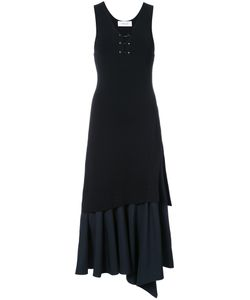 Derek Lam 10 Crosby | Sleeveless Ruffle Front Dress