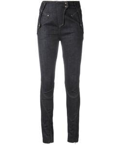 Esteban Cortazar | Denim Skinny Trousers Size 38