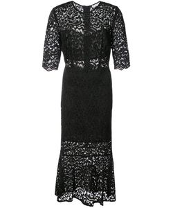 Veronica Beard | Lace Embroidered Flared Dress