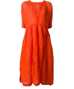 Daniela Gregis | Colour Block Wrinkled Midi Dress