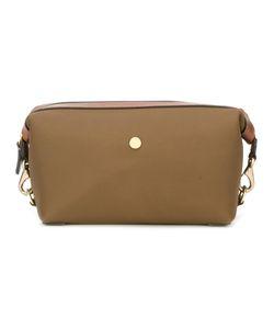 Mismo | Zipped Wash Bag Leather/Nylon