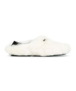 Fendi | Lamb Fur Slippers 8
