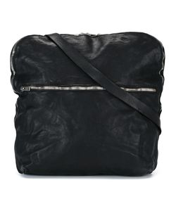 Guidi | Top Zip Messenger Bag Horse Leather