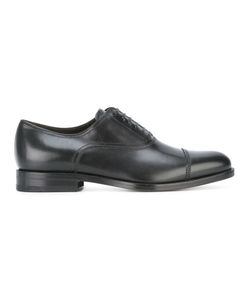 Salvatore Ferragamo | Lace-Up Oxford Shoes 6 Calf Leather/Leather