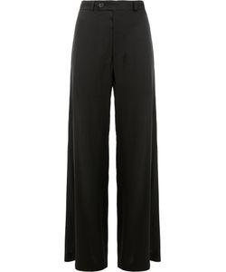 Moohong | Flared Drape Stitch Trousers Size 34