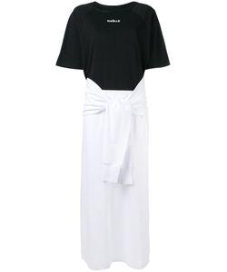 Gaelle Bonheur | Tie Sleeve T-Shirt Dress