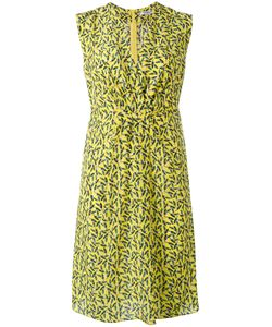 Cacharel | Printed V-Neck Dress 34