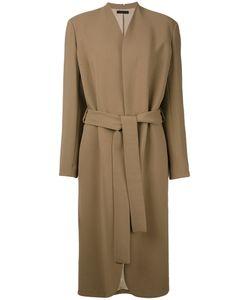 The Row | Belted Midi Coat Women