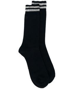 Comme Des Garçons Homme Plus   Striped Socks Size Small