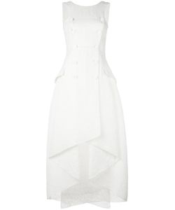 Antonio Berardi | Ruffle Midi Dress 44