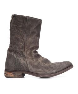 A Diciannoveventitre | Peaked Derby Vamp Boots 40