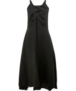 Aganovich | Draped Panel Midi Dress