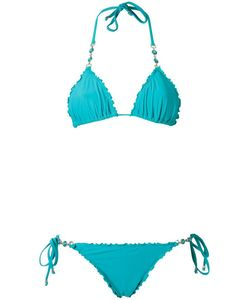 Amir Slama | Triangle Bikini Set Medium Elastodiene
