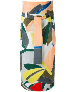 Erika Cavallini | Patterned Long Skirt