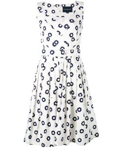 Samantha Sung | Printed V-Neck Dress