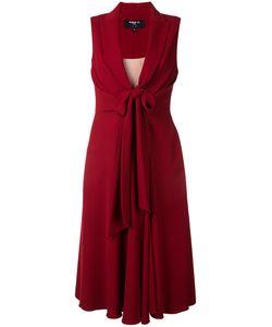 Paule Ka | Front Knot Midi Dress