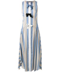 Sportmax | Striped Bow Tent Dress