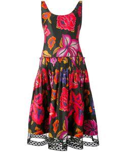 Alberta Ferretti   Pleated Waist Dress