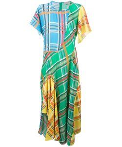 Preen by Thornton Bregazzi | Checked Panel Dress