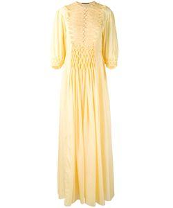 Ermanno Scervino | Embroidered Maxi Dress