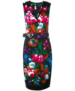 Samantha Sung | Print Belted Dress