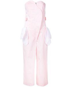 Jenny Fax   Handkerchief Pocket Jumpsuit Size Medium