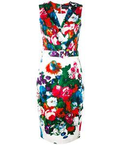 Samantha Sung | Belted Pencil Dress Women